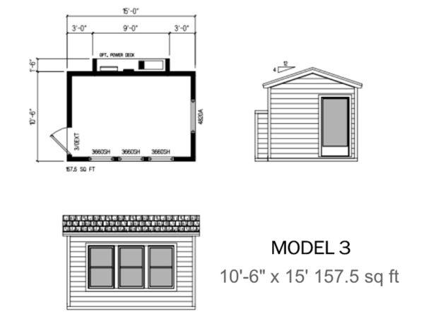 LuxMods Multi-Purpose Modular Room - Model 3