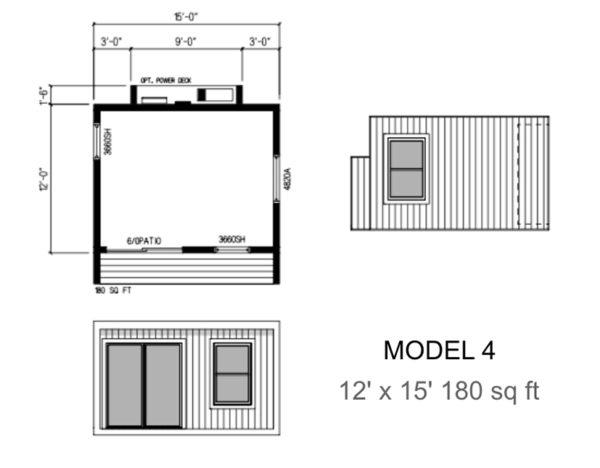 LuxMods Multi-Purpose Modular Room - Model 4
