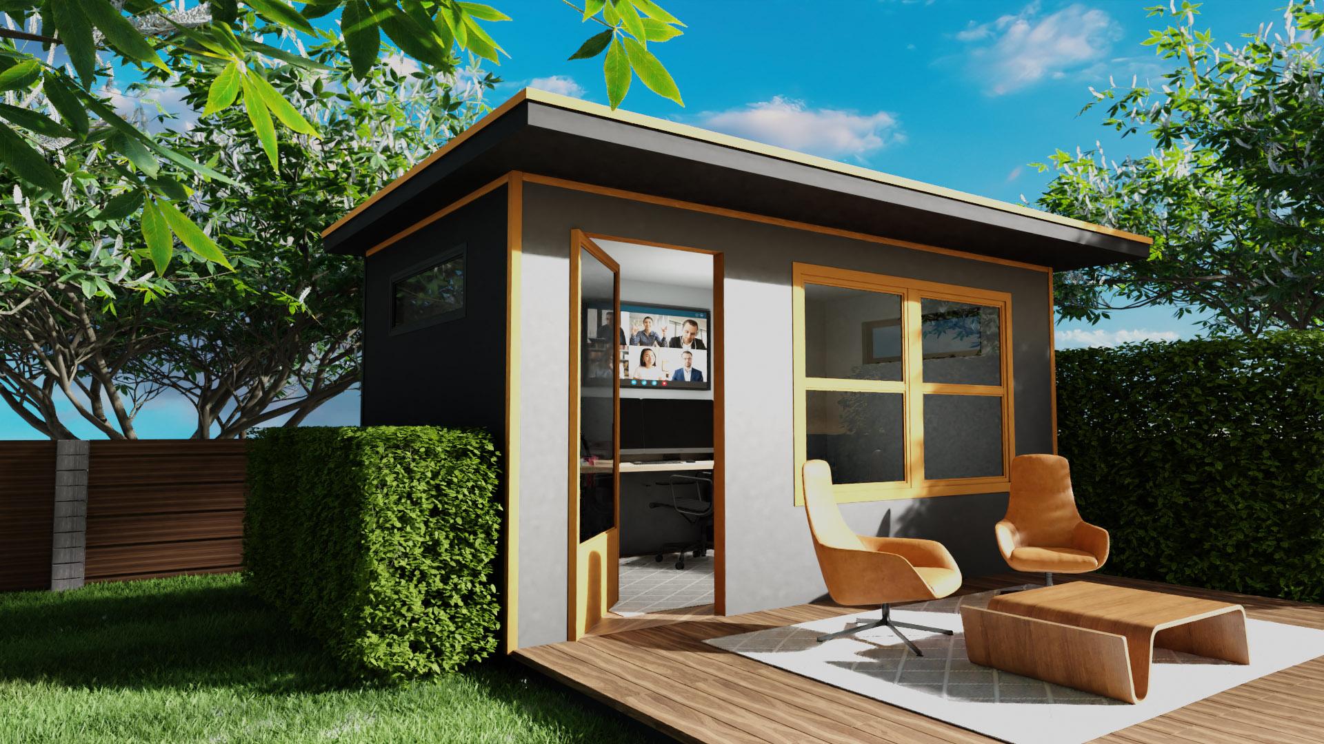 Office Pod Backyard Office